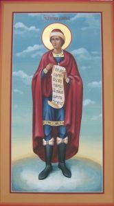Рукописная икона Даниил Пророк