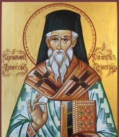 Рукописная икона Дионисий Эгинский