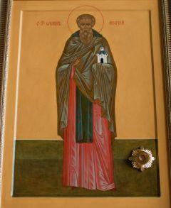 Рукописная икона Елеазар (Елизар) Анзерский