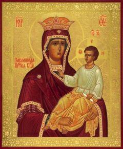 Рукописная икона Закланная