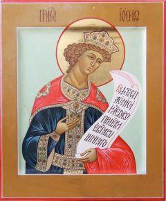 Рукописная икона Иосиф Прекрасный