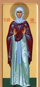 Рукописная икона Кира Берийская Македонская