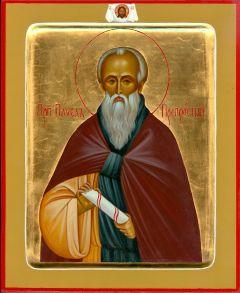 Рукописная икона Павел Препростой