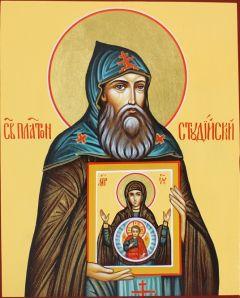 Рукописная икона Платон Студийский