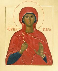Рукописная икона Раиса Ираида