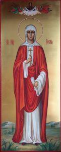 Рукописная икона София Римская
