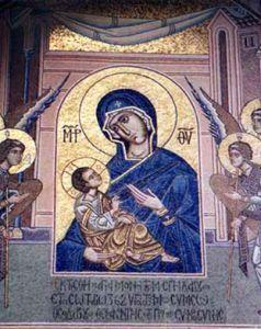 Рукописная икона Спилеотисса
