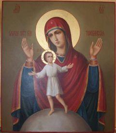 Рукописная икона Теребенская