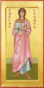 Рукописная икона Василиса