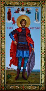 Мерная икона Федор (Феодор) Стратилат