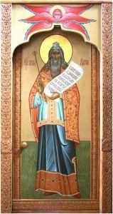 Рукописная икона Аарон Первосвященник