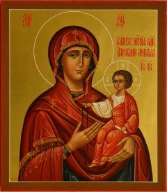 Рукописная икона Дарование молитвы