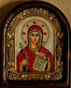 Икона бисером Наталия Никомидийская