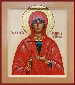 Рукописная икона Неонилла