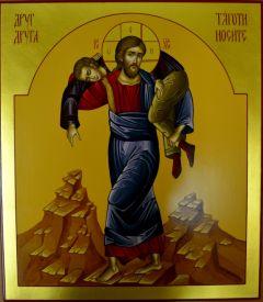Рукописная икона Друг друга тяготы носите