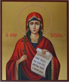 Рукописная икона Наталия мученица