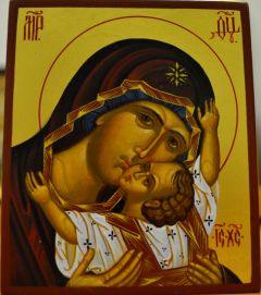 Рукописная икона Кардиотисса Сердечная