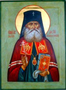 Рукописная икона Алексий (Алексей) Великоустюжский