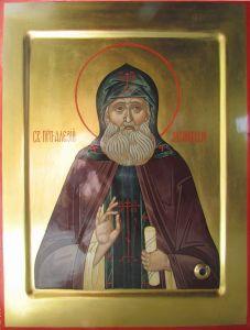 Рукописная икона Алексий (Алексей) Зосимовский