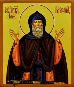 Рукописная икона Илия (Илья) Муромец