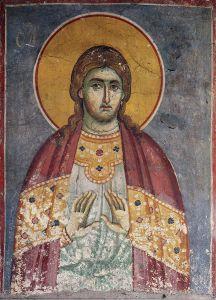 Рукописная икона Евдоким Каппадокиянин
