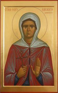 Рукописная икона Елисавета Куранова