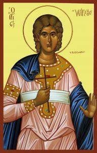 Рукописная икона Иакинф Римский