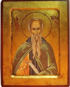 Рукописная икона Исидор Пелусиот