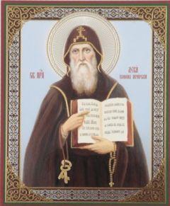 Рукописная икона Лука Печерский