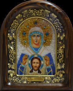 Икона из бисера Вероника Праведная
