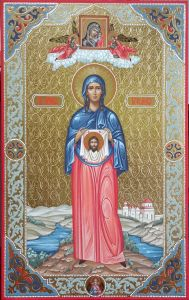 Мерная икона Вероника Праведная