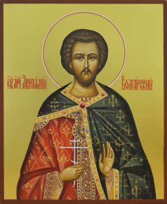 Рукописная икона Авраамий Болгарский