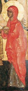 Рукописная икона Сарра Праматерь