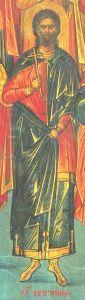 Рукописная икона Саторнин Критский