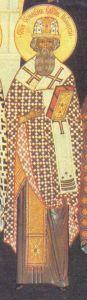 Рукописная икона Симеон Полоцкий