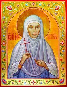 Рукописная икона Татьяна (Татиана) Аносинская Фомичева