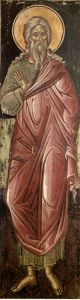 Рукописная икона Товит праведный