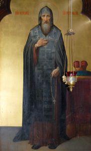 Рукописная икона Феодор Острожский