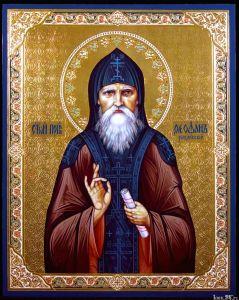 Рукописная икона Феофан Рыхловский