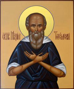 Рукописная икона Максим Тотемский