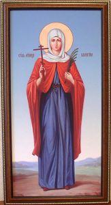 Рукописная икона Алевтина Кесарийская