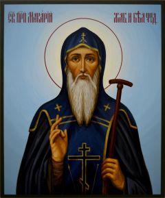 Рукописная икона Макарий Жабынский