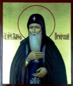 Рукописная икона Матфей Печерский Прозорливый