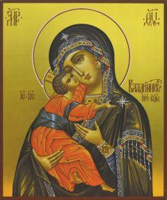 Рукописная венчальная пара Владимирская икона