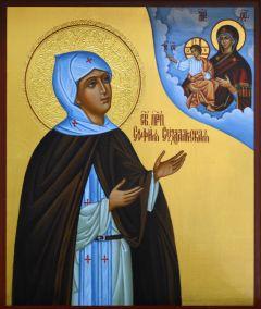 Рукописная икона София Суздальская