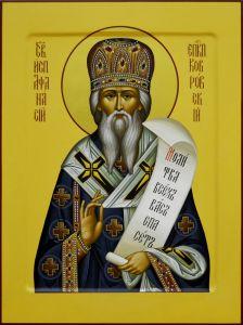 Рукописная икона Афанасий Ковровский