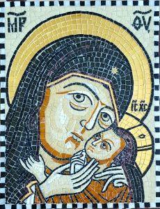 Икона из мозаики Касперовская