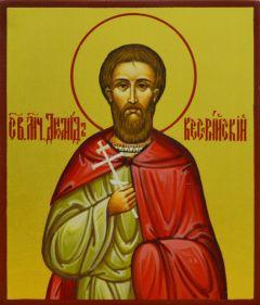 Рукописная икона Диомид Кесарийский