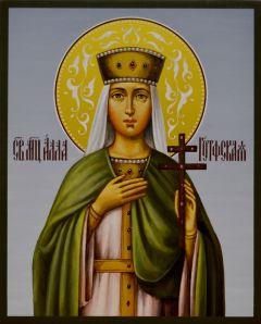 Рукописная икона Алла Готфская 2