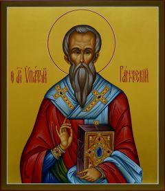 Рукописная икона Ипатий Гангрский